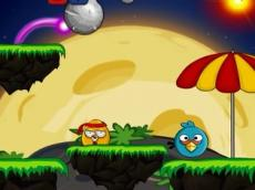 Angry Bird Space Big Bomb