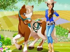 Barbie Country Horse Dress Up
