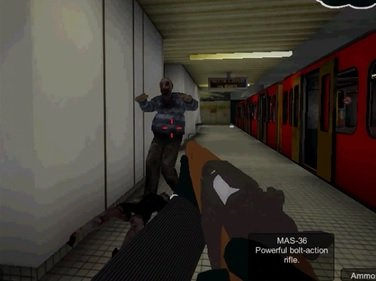 Metro Zombie Attack: Subway 3D